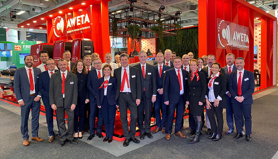 aweta sales team fruit logistica berlin 2020