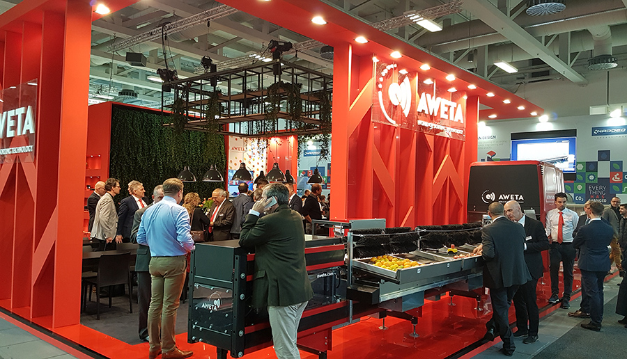aweta stand fruit logistica berlin 2020